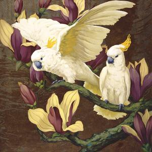 Cockatoos on Copa De Oro by Jesse Arms Botke