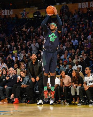 2014 NBA All-Star Game: Feb 16 - Carmelo Anthony by Jesse D. Garrabrant
