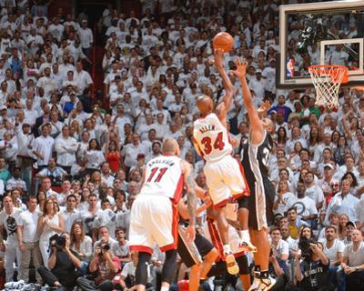 2014 NBA Finals Game Three: Jun 10, Miami Heat vs San Antonio Spurs - Ray Allen by Jesse D. Garrabrant