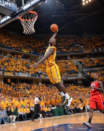 2014 NBA Playoffs Game 7: May 3, Atlanta Hawks vs Indiana Pacers - Lance Stephenson