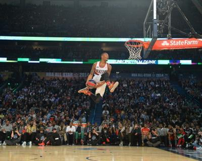 2014 Sprite Slam Dunk Contest: Feb 15 - Damian Lillard by Jesse D. Garrabrant