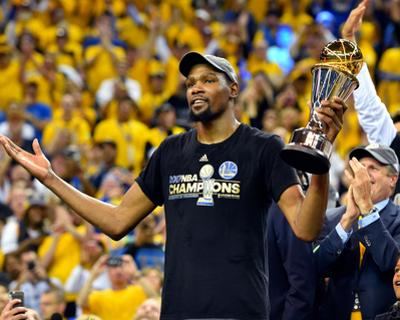 2017 NBA Finals - Game Five: Kevin Durant, MVP by Jesse D Garrabrant
