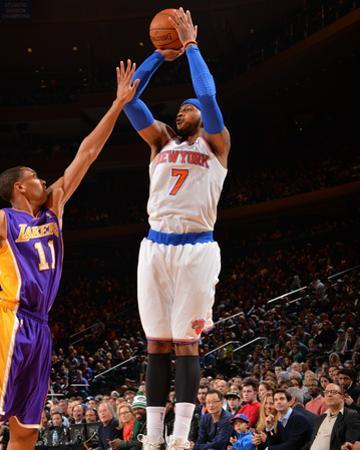 Jan 26, 2014, Los Angeles Lakers vs New York Knicks - Carmelo Anthony by Jesse D. Garrabrant