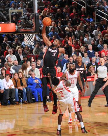 Mar 4, 2014, Miami Heat vs Houston Rockets - Dwayne Wade