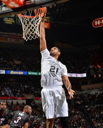 Mar 6, 2014, Miami Heat  vs San Antonio Spurs - Tim Duncan