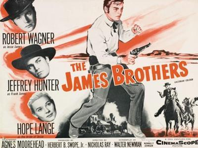 """Jesse James, 1957, """"The True Story of Jesse James"""" Directed by Nicholas Ray"""