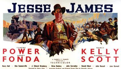 Jesse James, Tyrone Power As Jesse James, 1939