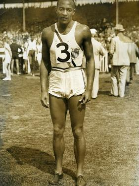 Jesse Owens at the Berlin Olympics, 1936