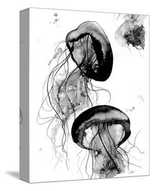 Black and White Jellyfish by Jessica Durrant
