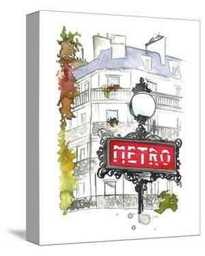 Paris Metro by Jessica Durrant