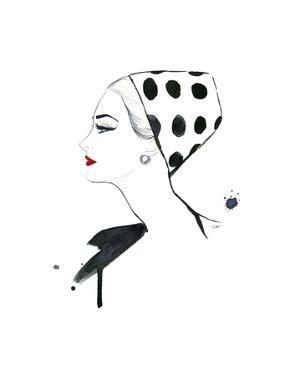 Polka Dot Glam by Jessica Durrant