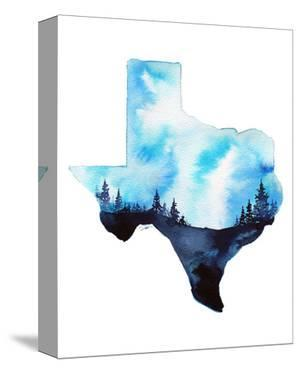 Texas State Watercolor by Jessica Durrant