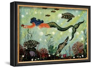 Blue Mermaid by Jessica Fries