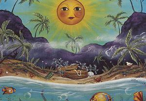 Caribbean Cove by Jessica Fries