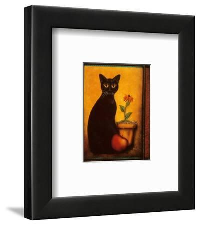 Framed Cat II by Jessica Fries