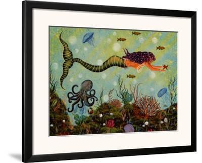 Purple Mermaid by Jessica Fries