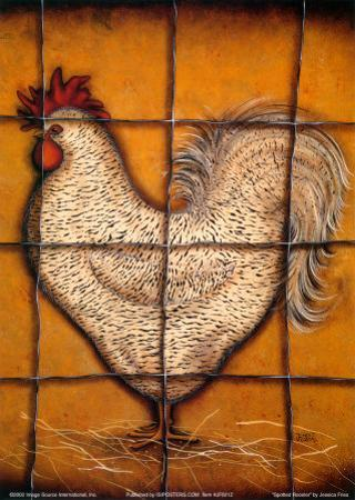Spotted Rooster by Jessica Fries