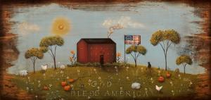 The Red Schoolhouse by Jessica Fries