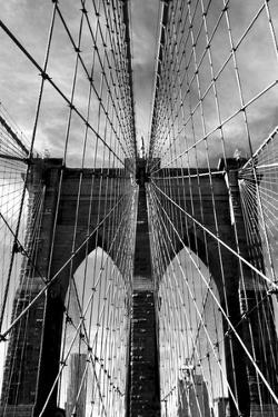 Brooklyn Bridge Approach by Jessica Jenney