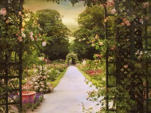 Rose Garden Gate by Jessica Jenney