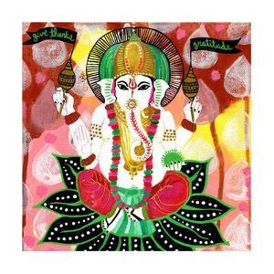 Ganesh of Gratitude by Jessica Swift