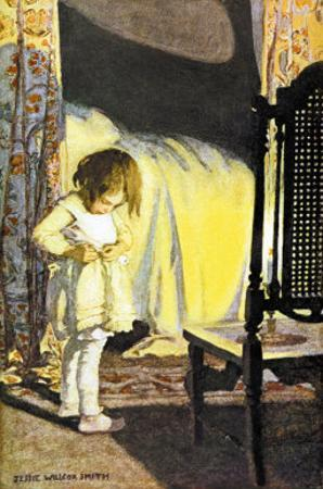 Bed in Summer by Jessie Willcox-Smith