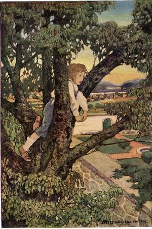 Boy in a Tree, 1905