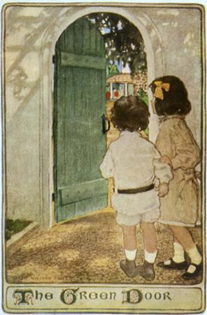 Children, Garden Door 20C