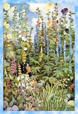 Flowers by Jessie Willcox-Smith