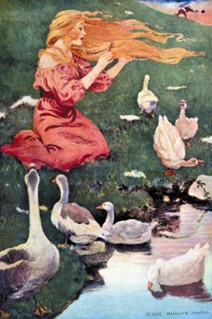 Goose Girl by Jessie Willcox-Smith