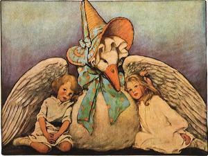 Mother Goose, 1914 by Jessie Willcox-Smith