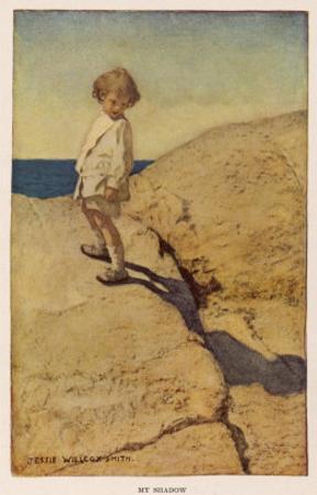 My Shadow by Robert Louis Stevenson by Jessie Willcox-Smith