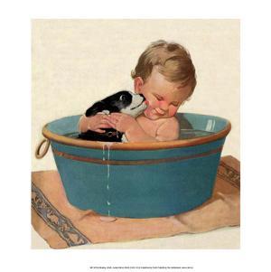 Sharing a Bath by Jessie Willcox Smith