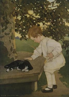 The Senses: Touch by Jessie Willcox-Smith