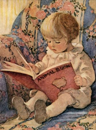 Toddling Baby by Jessie Willcox-Smith