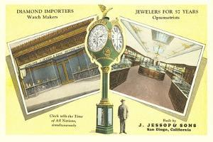 Jessop's Jewelry Store and Clock