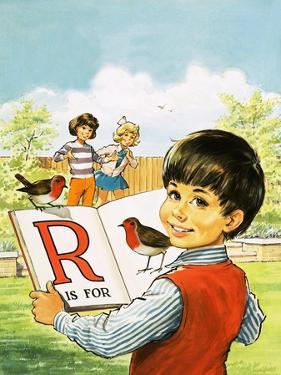 R Is for Robin by Jesus Blasco