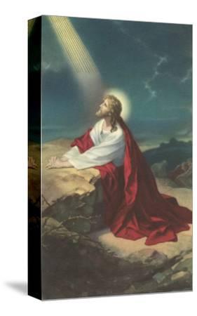 Jesus Christ Praying