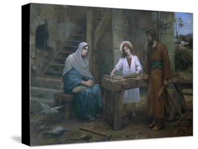 Jesus Helping St. Joseph in His Workshop, Church of St. Joseph, Nazareth, Israel