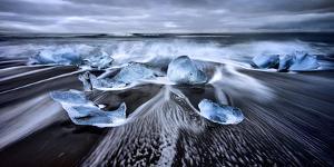 Blue Diamonds by Jesus M. García