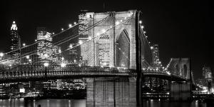 Brooklyn bridge posters at allposters brooklyn bridge at nightjet lowe malvernweather Choice Image