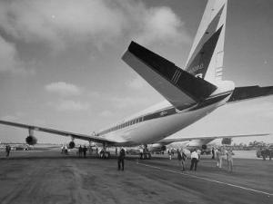 Jet Preparing for a Test Flight
