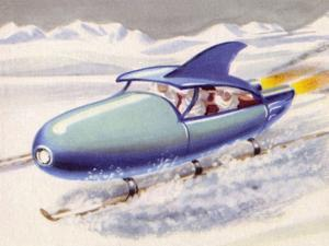 Jet-Propelled Snowmobile