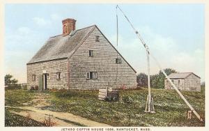 Jethro Coffin House, Nantucket, Massachusetts
