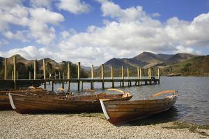 Jetty and Boats at Derwent Water January
