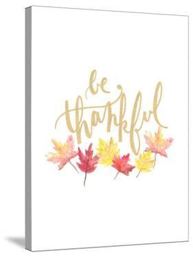 Be Thankful by Jetty Printables