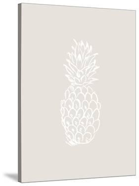 Beige White Pineapple by Jetty Printables