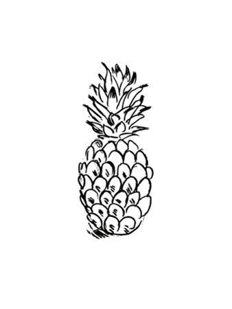 Black Pineapple by Jetty Printables