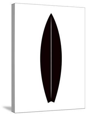 Black Surfboard by Jetty Printables