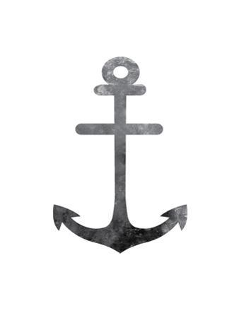 Black White Anchor by Jetty Printables